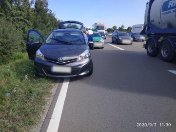 ДТП российской машины во Франции