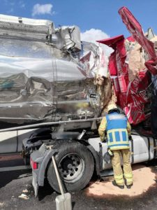 авария на дорогах Германии